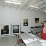 Lydia Schouten in haar atelier