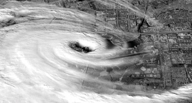 Afbeelding Oog van de orkaan