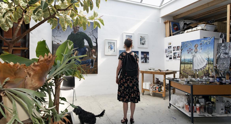 Salondagen #2 Nieuw en Meer Kunstenaarscomplex. Foto: Thomas Lenden