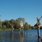 Landenfestival 2011. Sculpturen van Caroline Diepstraten en Bart Kelholt