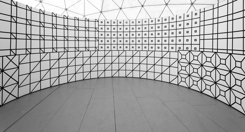Tentoonstelling van Aam Solleveld in de Witte Arena, Nieuw & Meer