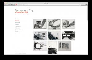 Website Semna van Ooy