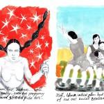 Walter van der Horst - 2 tekeningen (2)