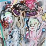 Sander van Deurzen - juxtapose 150x130cm 2007