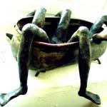 Badkuip brons, Staalwolf