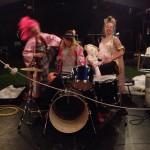 Iceland Fake Rockband practice