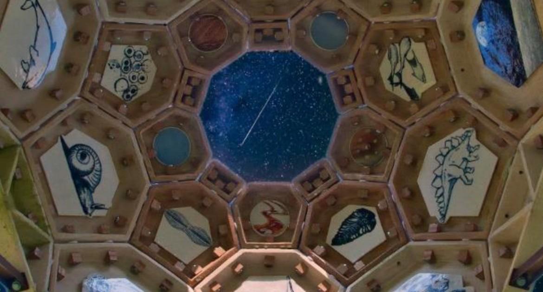 Dome Temple by night, Elbeth Pluimers