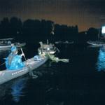Drijf in bioscoop op het Nieuwe Meer