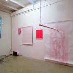 Pink Blues Experiment. Atelierpresentatie in samenwerking met Ans van der Vleuten.