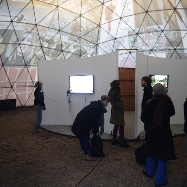 Presentaties in de Witte Arena